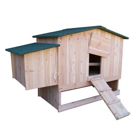 poulailler bois 1 4 poules epic a ou douglas. Black Bedroom Furniture Sets. Home Design Ideas