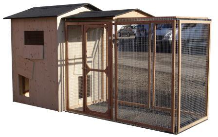 Palace Compact + Parc à poules anti-renards