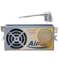 Air Pulse : Chauffage pour Poulailler