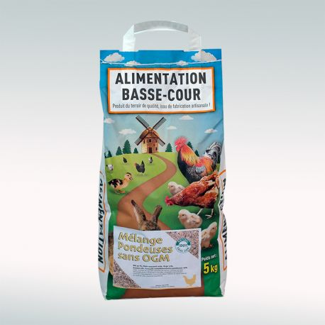 Mélange pondeuses sans OGM par 5kg