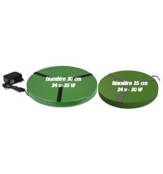 Chauffe abreuvoirs vert